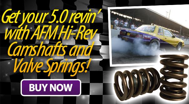 hi-rev camshafts and valve springs