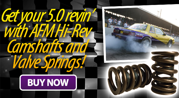hi-rev camshafts and valve springs
