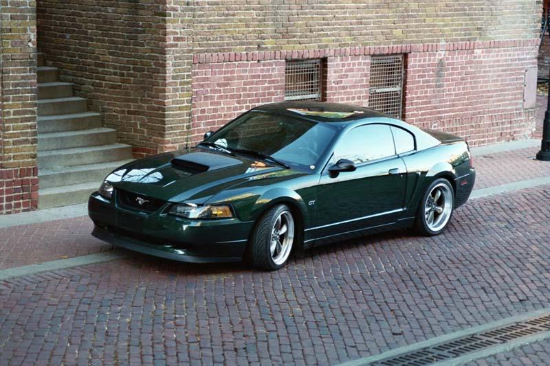 01 Ford Bullitt Mustang - Matt Baker