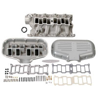 Trick Flow Box R-Series Intake Manifold for SBF 302 Based Engines, Silver