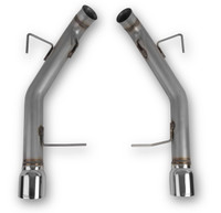 Hooker Blackheart Axle-Back Exhaust without Mufflers, 2011-2014 GT, 70403301-RHKR