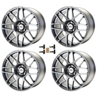 M-1007KIT-SA199 Ford Racing Mustang SVT 19X9 Wheel Set With TPMS Kit