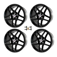 M-1007KIT-SA1995 Ford Racing 2014 MUSTANG SVT 19X9.5 WHEEL SET WITH TPMS KIT