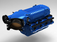 WK-2610BL-STG1 WHIPPLE W175FF 2.9L, BLUE Stage 1 Supercharger Kit, 2011 - 2014 Mustang GT