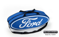 Canvas Ford Oval Tote Bag, Blue