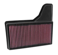 33-5029 K&N High-Flow Air Filter For 2015 - 2016 Mustang V8, V6, and I4