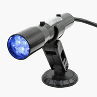 840003 Sniper Standalone CAN OBDII Plug-In Shift Light, Black Tube, Blue LED