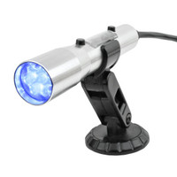 840006 Sniper Standalone CAN OBDII Plug-In Shift Light, Silver Tube, Blue LED