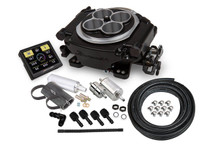 550-511K Holley Sniper EFI Self Tuning Master Kit, Black Ceramic Finish