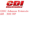 OMC Johnson Evinrude 225 - 300 HP outboard ignition products application guide