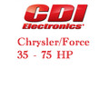 Chrysler/Force 35 - 75 HP Outboard ignition application guide