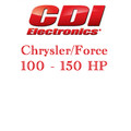Chrysler Force 100 - 150 HP Motors Application guide