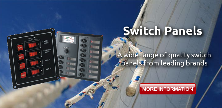 Switch Panels with Boat Electricals