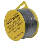 2 Core Tw Cable 24/0.20 0.75Mm2 3.5M Black (10)