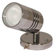 Aqualight Carna Wall Light C/W Switch S/S 12V 10W G4