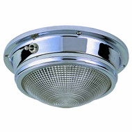 4inch Chrome Plated Zinc Surface Mount Dome