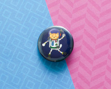 AstroCat - button badge