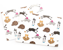 Cats and Stuff Wrapping Paper
