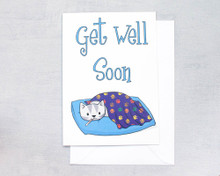 Get Well Soon - Greetings Card