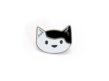 Pixie Enamel Cat Pin
