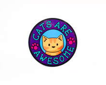 Cats Are Awesome - Window Cling