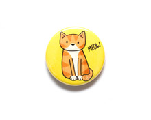 Meow - Fridge Magnet