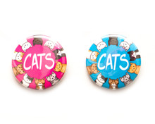 Cats - button badge
