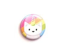 Unicorn Cat - Fridge Magnet