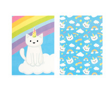 Unicorn Cats - Note Cards - Pack of 6