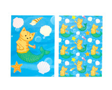 Mermaid Cats - Note Cards - Pack of 6