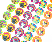 Cat Reward Stickers - Sheet of 35