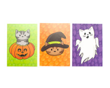 Spooky Postcards - set of 6 - Halloween