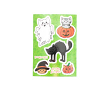 Halloween Cat Stickers