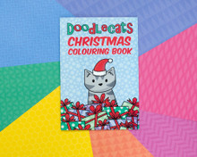 Mini Doodlecats Colouring Book - CHRISTMAS