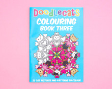 Cat Colouring Book - Volume Three