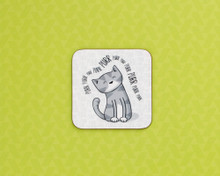 Purr Cat Coaster
