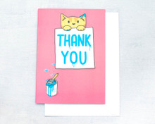 Thank You - Greetings Card