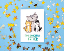 To A Wonderful Father - Greetings Cards