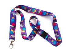 Yarn Cats - Lanyard  - with Safety Clip
