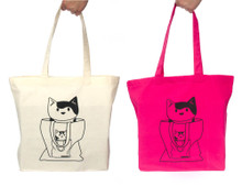 Cat-Bagception - Large Shopper Bag
