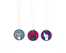 Doodlecats Necklace
