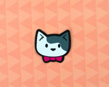 Bowtie Cat Mini Patch