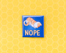 NOPE - Pin Badge