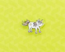Standing Unicorn - Acrylic Pin