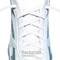 RocketInk White oval shoelaces.