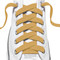 RocketInk Tan shoelaces.