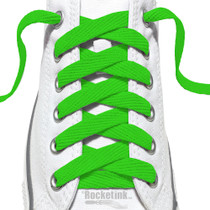RocketInk Clover Green Laces.
