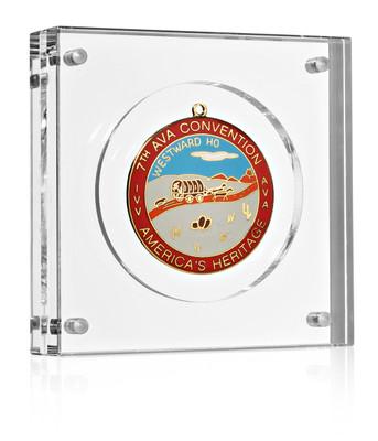 """Volkssport Medal Display (4"""") Medal Block"""