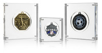 "Medal Block (6"") Baseball, Soccer, Other Sports Medal Display"
