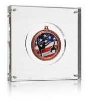 "Medal Block (6"") Gymnastics Medal Display"